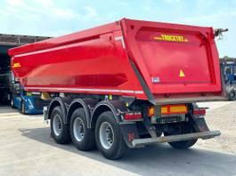 tipper semi trailer KAESSBOHRER HardoX Halfpipe 24 cbm, Liftachse 2018