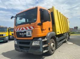 garbage truck MAN TGS 26 /Faun Powerpress 524/6x2/Euro5 2010