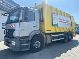 garbage truck Mercedes-Benz Axor /Faun Powerpress 524/Euro5/6x2 2010