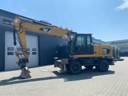 crawler excavator Caterpillar M318D/Schild/Pratzen/Hammerleitung/10600h 2010