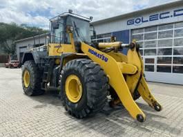 wheel loader Komatsu WA 480-6 Radlader 27 Ton - 9600 H - 3. Steuerkr. 2009