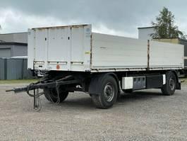 drop side full trailer Krone AZ Baustoff - Pritschenanhänger 2013