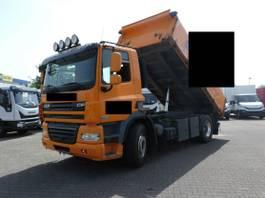 tipper truck > 7.5 t DAF CF 85 T Dreiseitenkipper Euro5 2012