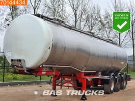tank semi trailer semi trailer Burg BPO 12-24 Z 3 axles Chemie Tank 31.000 Ltr / 3 Comp / ADR 1984