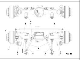 axle equipment part Kessler LTM 1400-7.1 Axle 3