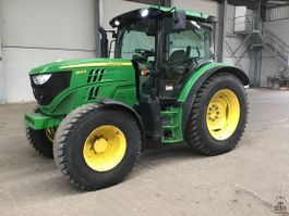 farm tractor John Deere 6125R 2015
