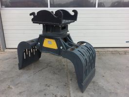 sorting grapple attachment Mustang GRP750 2019