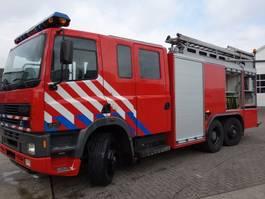 fire truck DAF CF 380 85-380 PK 5500litertank,WATER KANON 2003