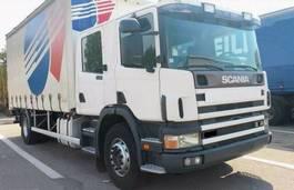 tilt truck Scania 94 D 300 DOKA 6 sitz DOPPEL KABINE 2004