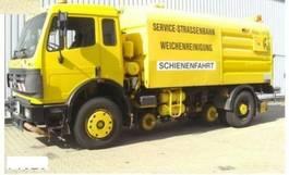 Road sweeper truck Mercedes-Benz SK 1820 4x2 Schienenreinigungs Kehrmaschine RAIL 1997