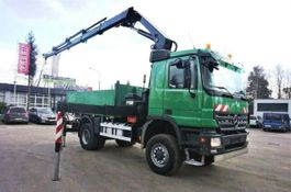 crane truck Mercedes-Benz 2248 AK 4x4 HIAB 288 Euro 5 CRAN Kran . 2008