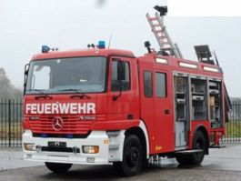 other trucks Mercedes-Benz Actros Feuerwehr 2080 L Fire Unit 1998