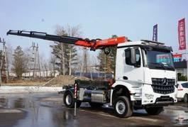 tipper truck > 7.5 t Mercedes-Benz 4x4 1836 FASSI 165 NCH EURO 6 KRAN CRAN 2016