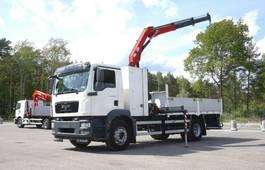 crane truck MAN 4x2 HMF 1035 K2 Crane Kran 2009