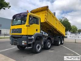 tipper truck > 7.5 t MAN 41.410 8x8 - Full steel - Mech pump - Manual - Big axles 2004