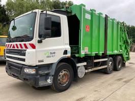 garbage truck DAF CF 75 6x2 **EURO 3-BELGIAN TRUCK** 2004