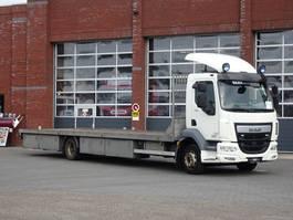 drop side truck DAF LF250 4x2 - 12T - Euro6 - Automatic - Winch - Navi - Camera system 2014