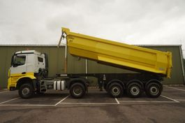 cab over engine Mercedes-Benz 1942 4X4 EURO 6 STEEL SUSPENSION IN COMBI WITH OZGUL TIPPER TRAILER 2014