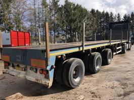 flatbed semi trailer Floor Uitschuifbaar + 3x gestuurd!!!! 1997