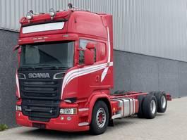 chassis cab truck Scania R580 / Euro6 / Retarder / Full air / Streamline / 430 Wielbasis / Boogie 2014