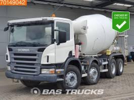 concrete mixer truck Scania 8X4 Liebherr 9m3 Manual Big-Axle Steelsuspension Euro 4 2007