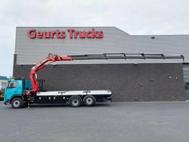 crane truck Volvo FM 6X2 + HMF 2820-K6 KRAAN/KRAN/CRANE/GRUA 2013