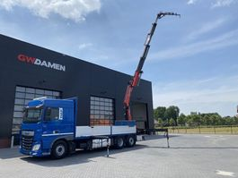 crane truck DAF XF 460 6x2 Fassi F 365RA.2.25  Euro 6 2014