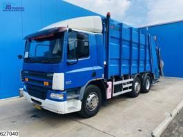 garbage truck DAF CF 75 6x2, Zoeller 2004