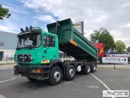 tipper truck > 7.5 t MAN 35.403 Full steel - Manual - 6 cyl - Mech pump 1997
