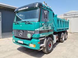 tipper truck > 7.5 t Mercedes-Benz ACTROS 2643 6x4 meiller tipper 1999