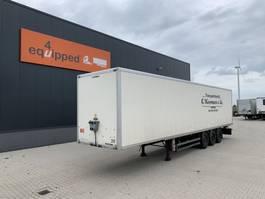 closed box semi trailer Samro BPW+disc, liftaxle, full chassis, NL-trailer, APK: 01/2022 2008