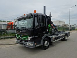 container truck Mercedes-Benz ATEGO 1018 HAAKSYSTEEM / KEURING / TUV / PERFECT CONDITION !!! 2006