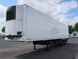 refrigerated semi trailer Schmitz Cargobull SKO 18 LZG FP 45 Lenkachse LBW Ternnwand 2017