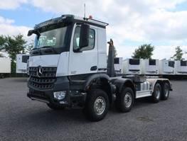 container truck Mercedes-Benz 4145 8x4 Arocs Meiller Abroller 2014