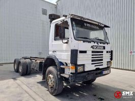 chassis cab truck Scania 92 310 6x4 Big axles 1988