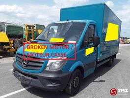 closed lcv Mercedes-Benz 311 Broken motor CASSE 2015