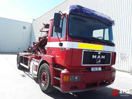 container truck MAN TS 19 19.293 lames/steel 1997