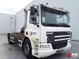 container truck DAF CF 360 lames B truck 2003