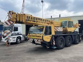 all terrain cranes Faun RTF 40-3 Crane 40 Ton 6x6x6 + Jib Good Condition 1995