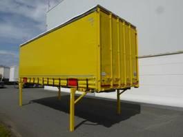 drop side full trailer Krone Heck mit Portaltüren 2008