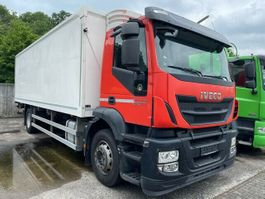 refrigerated truck Iveco AD190S31/FP Kühlkoffer mit LBW EEV 2013