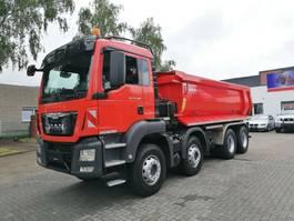 tipper truck > 7.5 t MAN TGS 35 8x4, BB, Manual Gearbox, Euro 6 2016