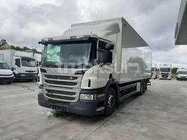 closed box truck Scania P410 2014