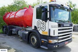 chassis cab truck Scania P94 Chassis w / hydraulic repair object 2005