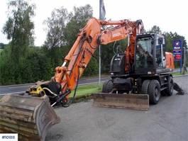 wheeled excavator Hitachi Zaxis W190-3 wheel machine with rototilt 2010