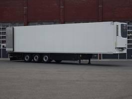 refrigerated semi trailer Schmitz Cargobull SKO24 Frigotrailer Hooks / Rohrbahnen / Vleeshang / low hours 2014