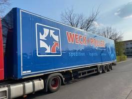 closed box semi trailer Schmitz Cargobull SKO24 Jumbo / Mega Keine Türen!! Dach beschädigt!! 2012