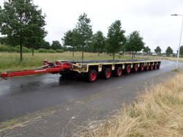semi lowloader semi trailer Goldhofer THP ST 4 + THP ST 6 axle module