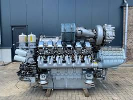 industrial engine MTU 12V 4000 Marine 1320 kW 1798 PK Diesel Engine as New ! 2004