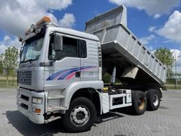 tipper truck > 7.5 t MAN TGA 26 .460 6X4 FULL STEEL HUBREDUCTION EURO 3 2002